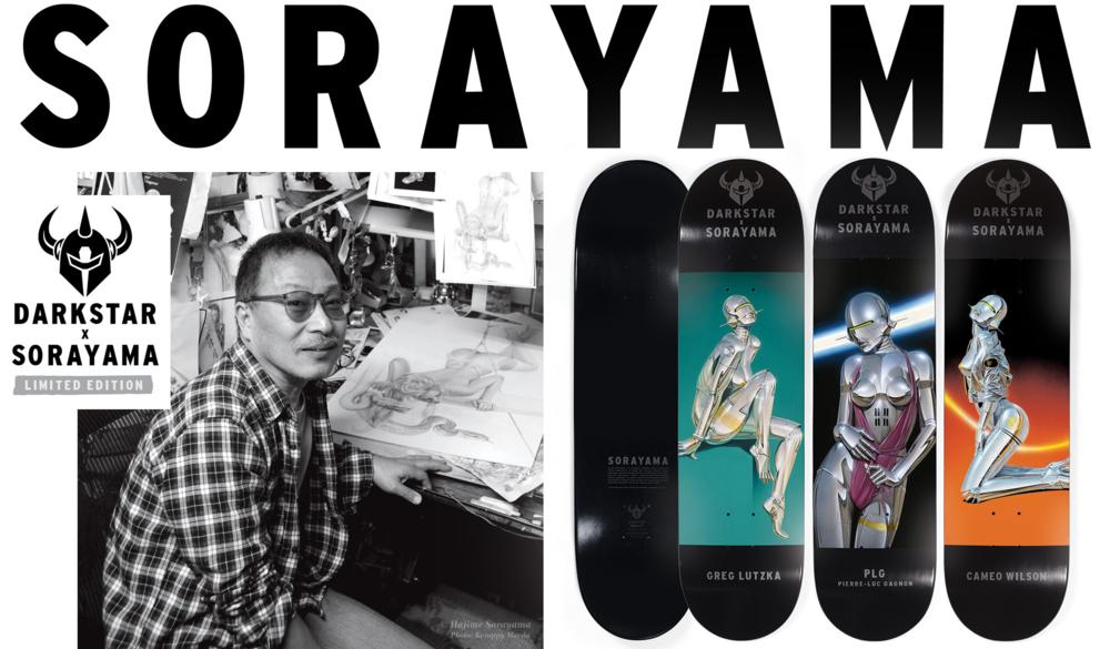 Darkstar x Sorayama