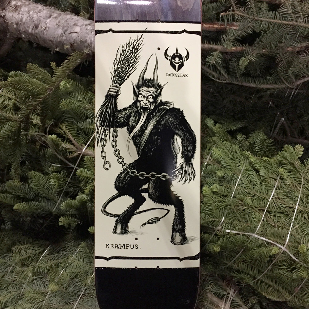 darkstar skateboards krampus