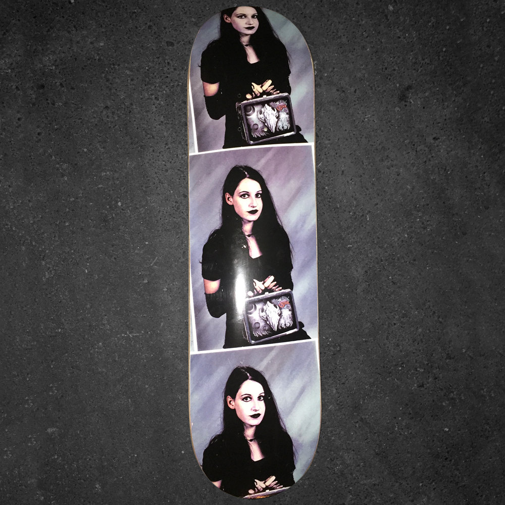 darkstar skateboards goth girl