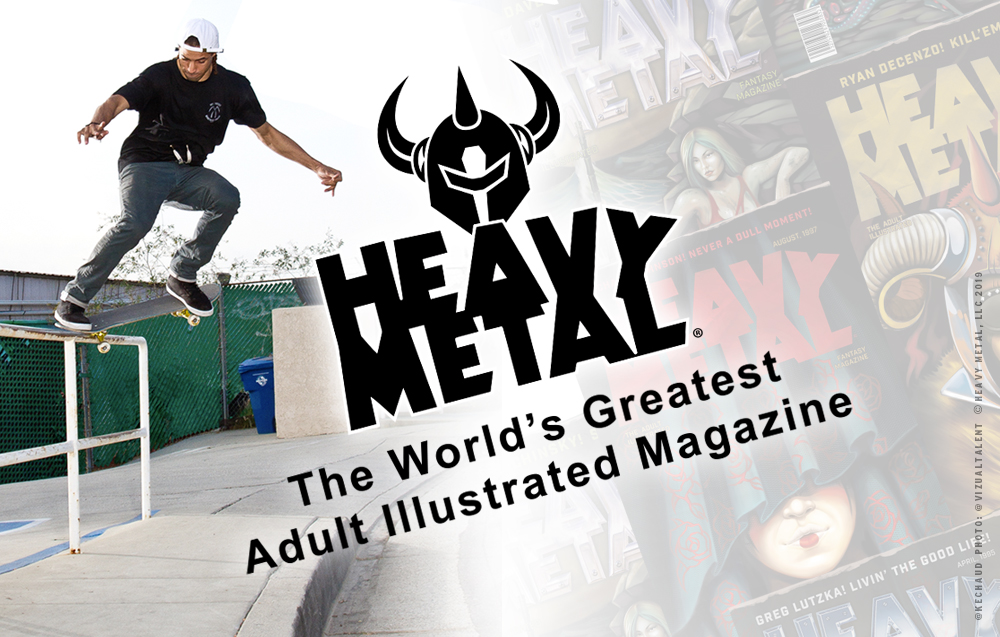 Darkstar Skateboards Heavy Metal Spring 2019 Kechaud