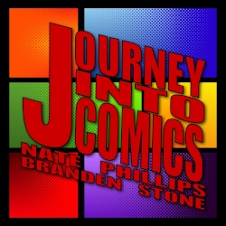 Journey Into Comics-Official Laffycon Hosts - Journey Into Comics is a podcast dedicated to everything nerd, and has been streaming to the masses since 2014. Hosted by Nate Phillips and Branden Stone, Journey Into Comics has surpassed 100 episodes and is available on podcast services such as iTunes, Podbean, Stitcher, and Google Play Music.Journey Into Comics will be hosting LaffyCon's 2 Day Event this year as our official MCs and hosting all of our panels on stage throughout the event!SATURDAY11 - Doors12-12:45 - Journey Into Comics 2411-1:45 - Brews With Dudes2 - 2:45 - Dungeons With Dudes3 - 3:45 - Foodies Watching Movies4 - 4:45 - PodcastropheSUNDAY12 - Doors1-1:45 - Adulting Ain't Easy2 - 2:45 - Voice of Survival - Nick Maxson3 - 3:45 - JiC/LaffyCon Wrap PartyAll events are live podcasts, we encourage audience participation and will be getting guests from the event to appear on the shows!https://www.facebook.com/journeyintocomicspodcast/