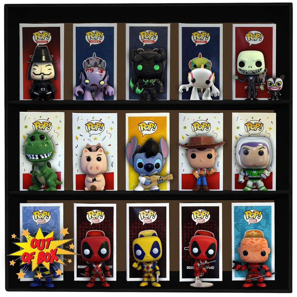Comical Issues - Comical issues specialized in the selling of comic books and toys such as funko pops and action figures such as the marvel build a figures.