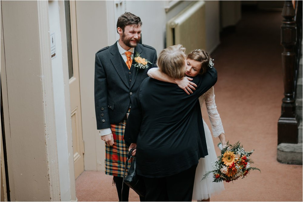 Photography 78 - Glasgow Wedding Photographer - Fraser Thirza - Killearn Village Hall - Three Sisters Bake Wedding_0095.jpg