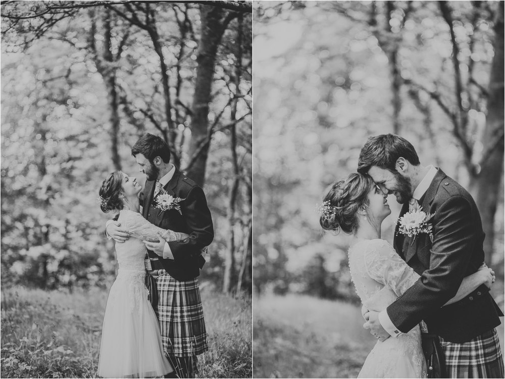 Photography 78 - Glasgow Wedding Photographer - Fraser Thirza - Killearn Village Hall - Three Sisters Bake Wedding_0102.jpg