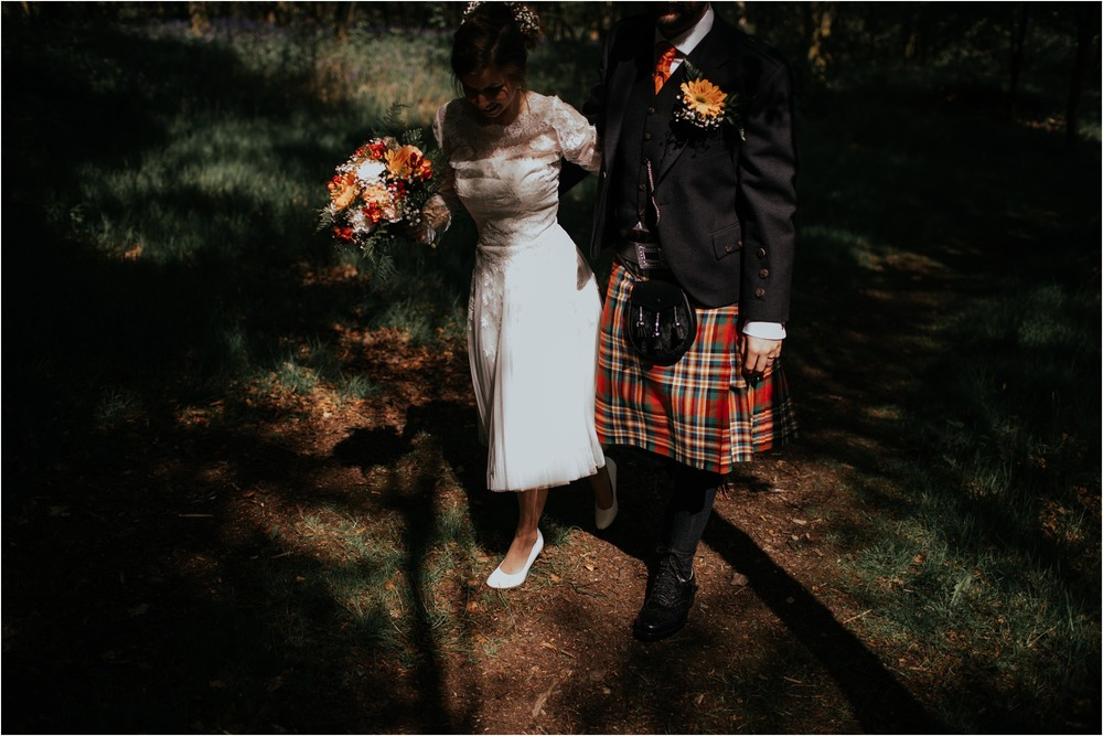 Photography 78 - Glasgow Wedding Photographer - Fraser Thirza - Killearn Village Hall - Three Sisters Bake Wedding_0103.jpg