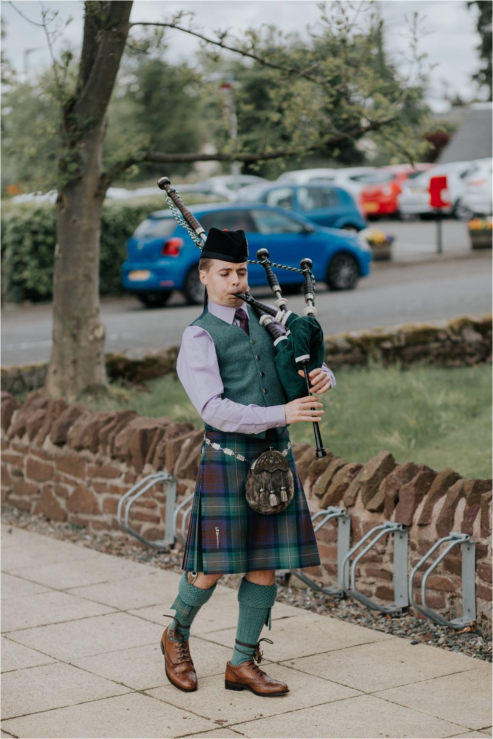 Photography 78 - Glasgow Wedding Photographer - Fraser Thirza - Killearn Village Hall - Three Sisters Bake Wedding_0116.jpg