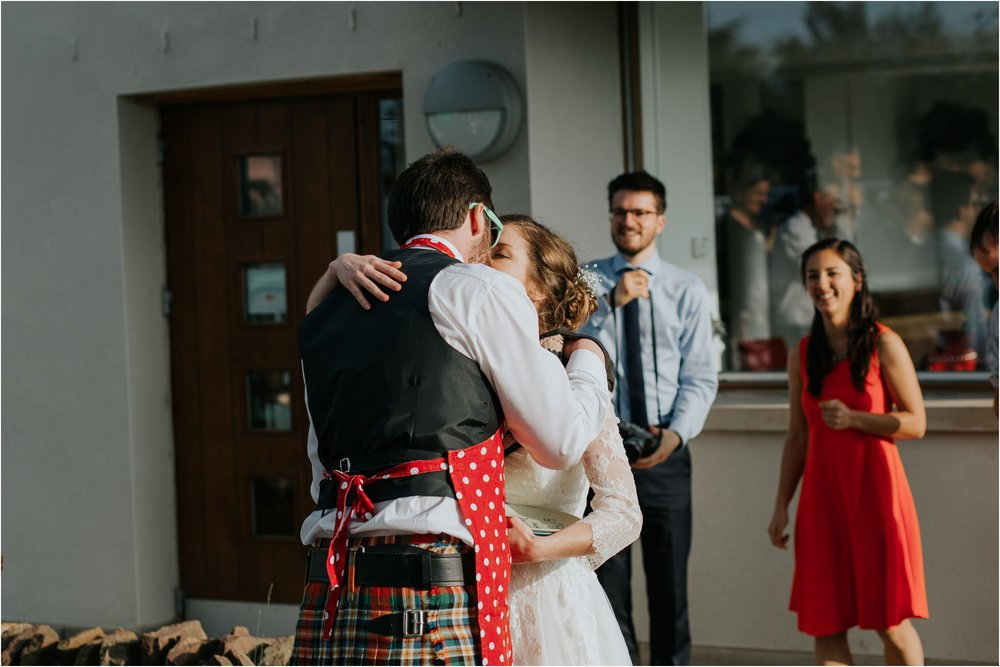 Photography 78 - Glasgow Wedding Photographer - Fraser Thirza - Killearn Village Hall - Three Sisters Bake Wedding_0138.jpg