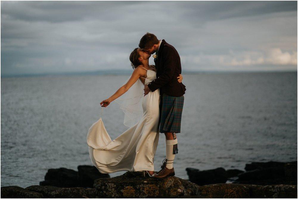 Photography 78 - Glasgow Wedding Photographer - Jordan & Abi - The Waterside Hotel, West Kilbride_0134.jpg
