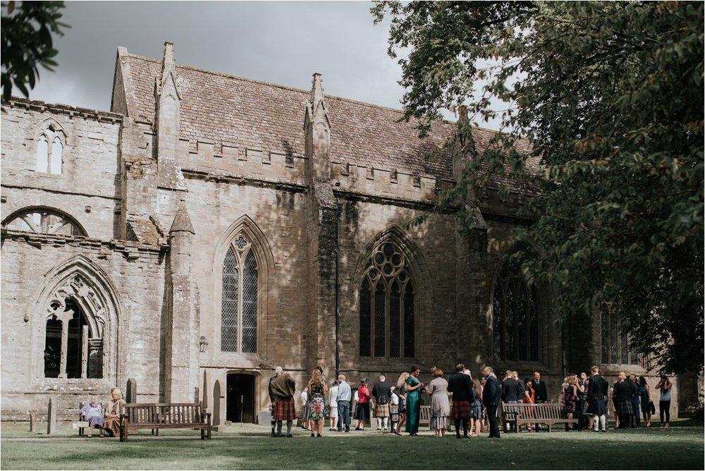 Photography 78 - Glasgow Wedding Photographer -Jonathan & Corrie's Garden Wedding in Aberfeldy - Dunkeld Cathedral_0046.jpg