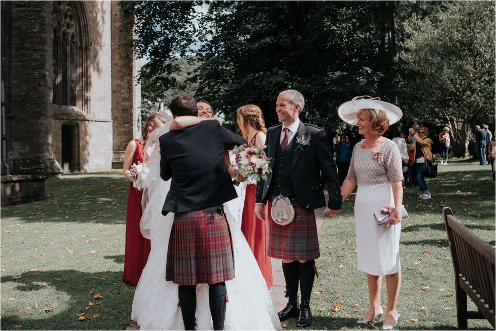 Photography 78 - Glasgow Wedding Photographer -Jonathan & Corrie's Garden Wedding in Aberfeldy - Dunkeld Cathedral_0052.jpg
