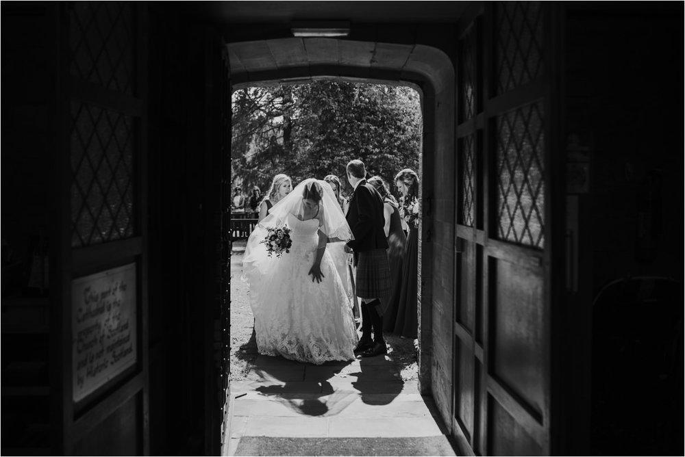 Photography 78 - Glasgow Wedding Photographer -Jonathan & Corrie's Garden Wedding in Aberfeldy - Dunkeld Cathedral_0053.jpg