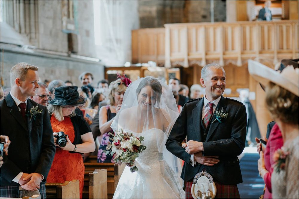 Photography 78 - Glasgow Wedding Photographer -Jonathan & Corrie's Garden Wedding in Aberfeldy - Dunkeld Cathedral_0057.jpg
