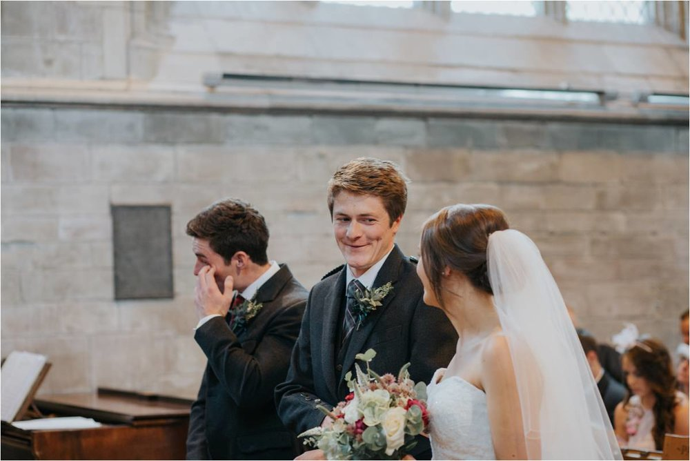 Photography 78 - Glasgow Wedding Photographer -Jonathan & Corrie's Garden Wedding in Aberfeldy - Dunkeld Cathedral_0059.jpg