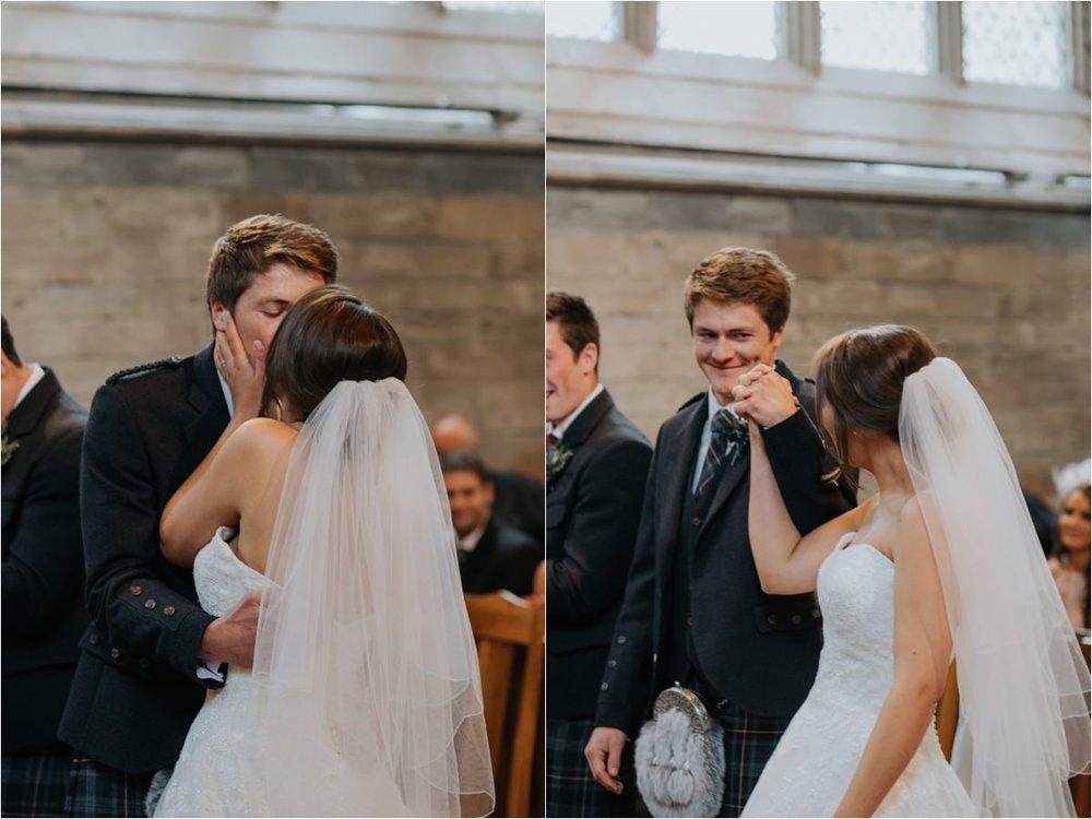 Photography 78 - Glasgow Wedding Photographer -Jonathan & Corrie's Garden Wedding in Aberfeldy - Dunkeld Cathedral_0063.jpg