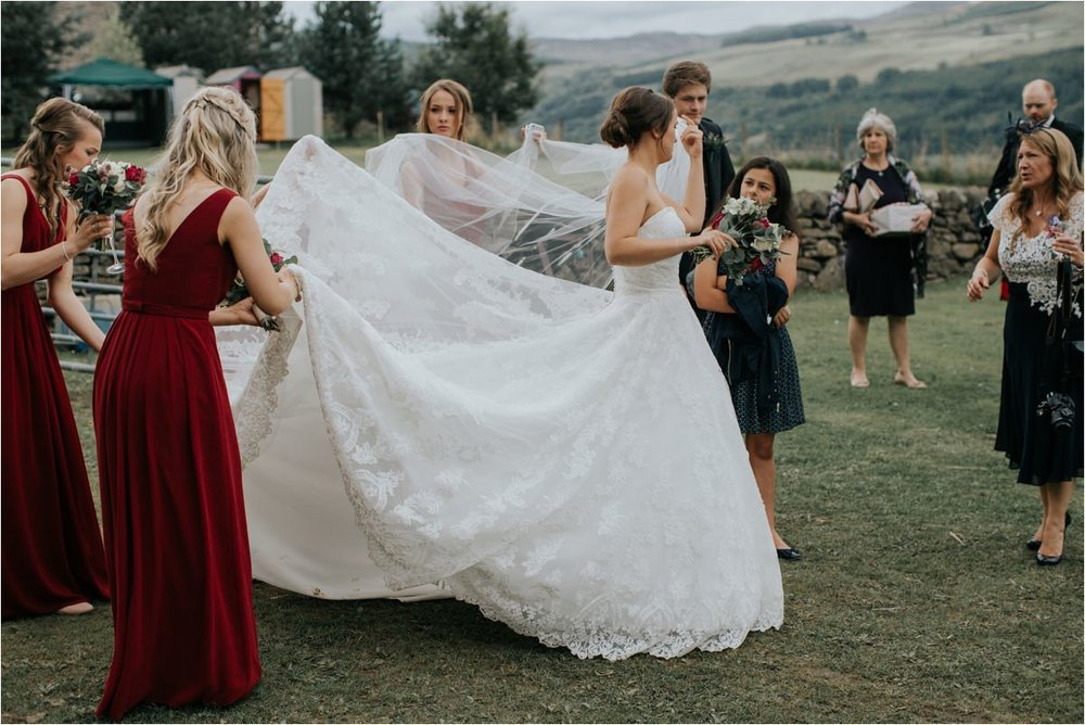Photography 78 - Glasgow Wedding Photographer -Jonathan & Corrie's Garden Wedding in Aberfeldy - Dunkeld Cathedral_0096.jpg