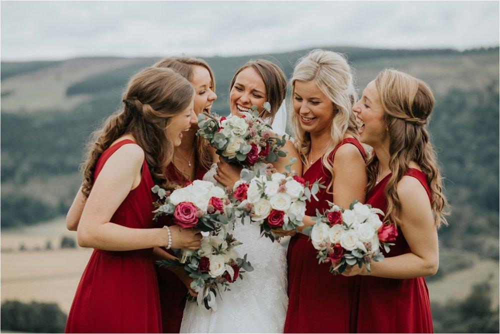 Photography 78 - Glasgow Wedding Photographer -Jonathan & Corrie's Garden Wedding in Aberfeldy - Dunkeld Cathedral_0098.jpg