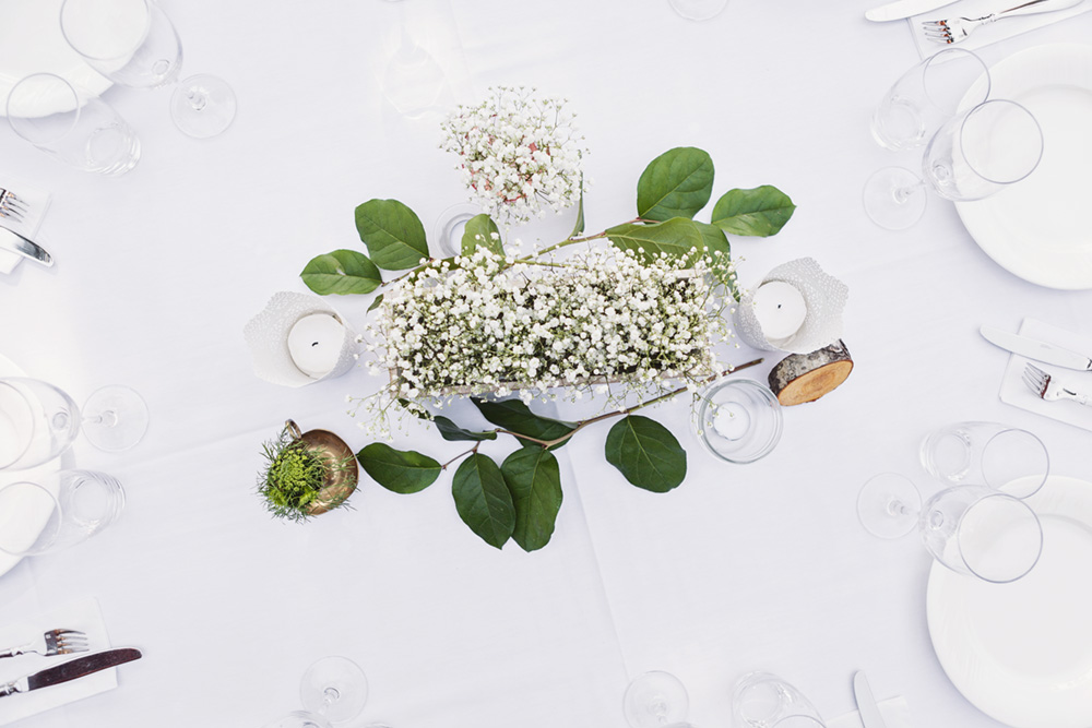 Whistler Wedding reception details