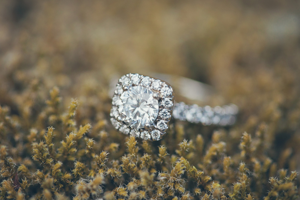 ring on moss  by Vancouver photographer