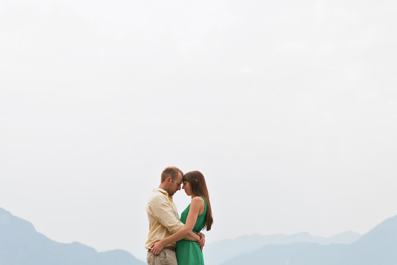 Porteau Cove engagement photographer