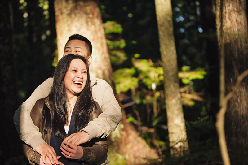 Lynn Valley engagement photography