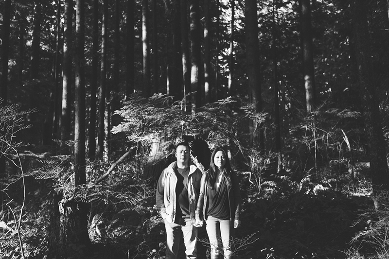 Engagement photographer Lynn Valley