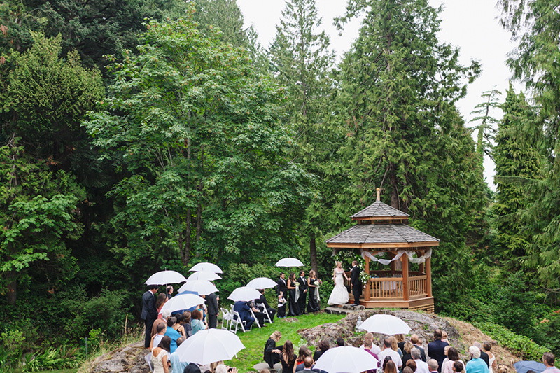 Forest Wedding, Bowen Island