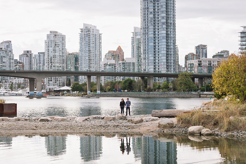Vancouver Skyline Engagement Photos