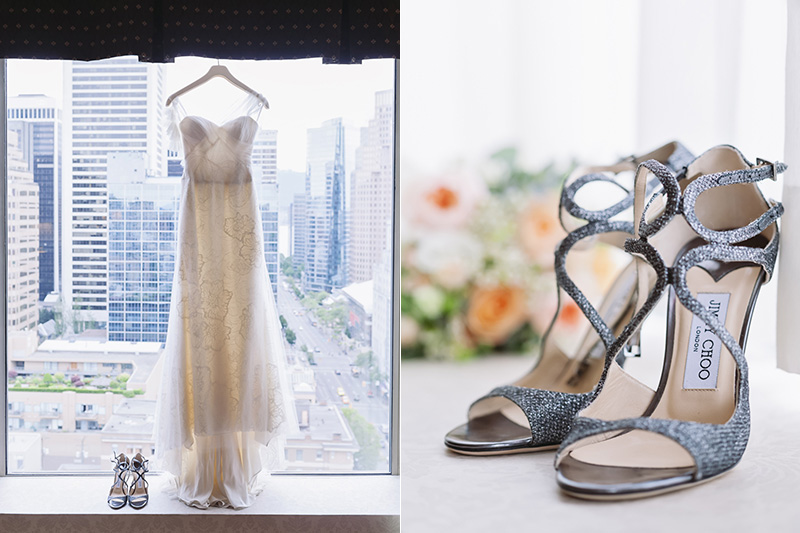 Vancouver wedding photography: bridal details, sutton place hotel