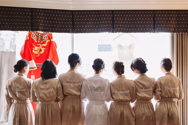 bridesmaids, vancouver wedding