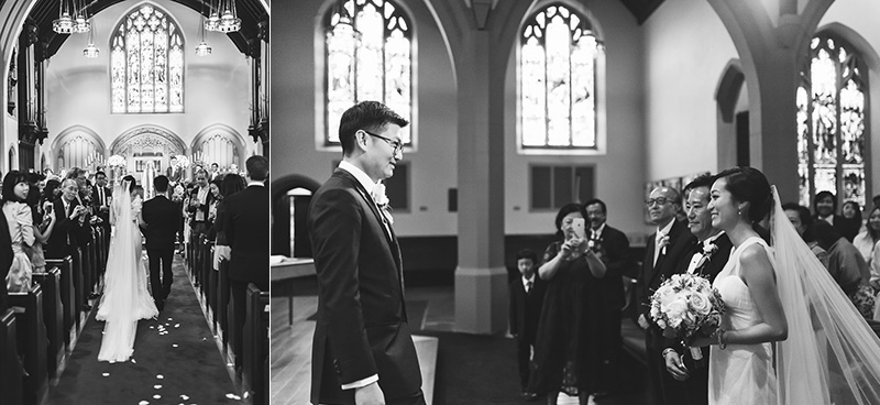 Canadian Memorial Church wedding