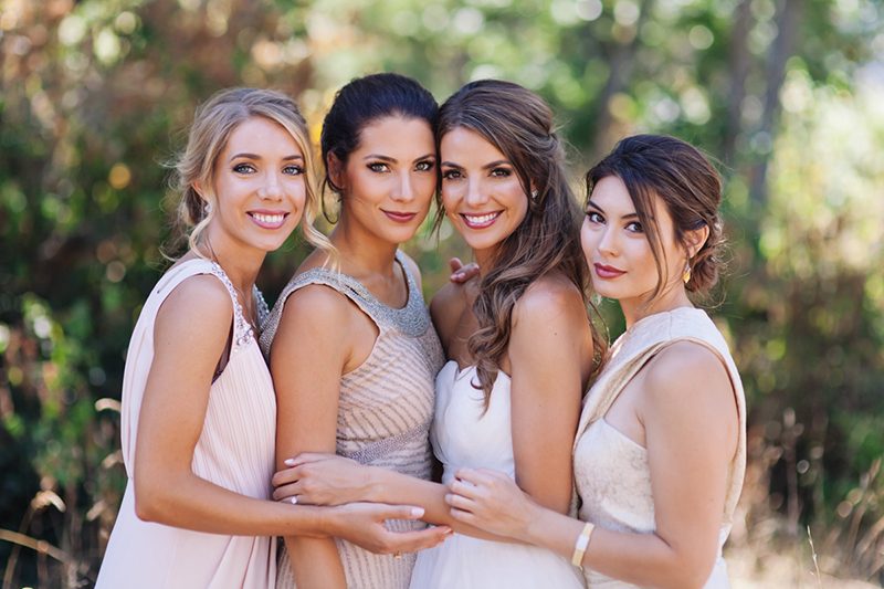 gorgeous bridal party