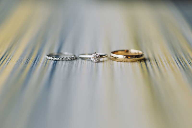 Vancouver wedding photography: wedding rings