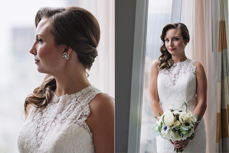 beautiful bride, sheraton wall center, vancouver wedding photogrpahy