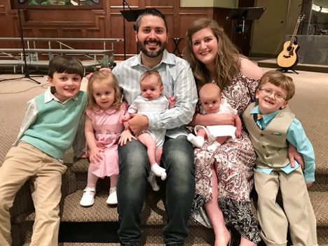 Our family at Easter... not all faces are celebrating the resurrection!