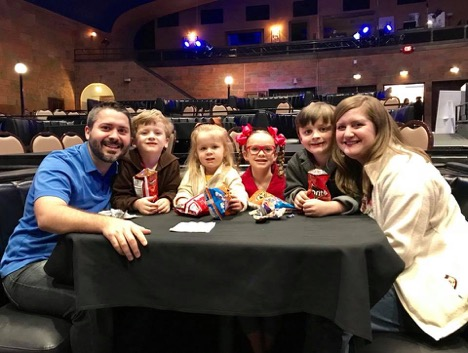 We took the kids and a friend to see Curious George Live in Wichita.