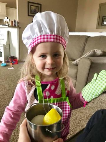 A culinary creation by Amelia.