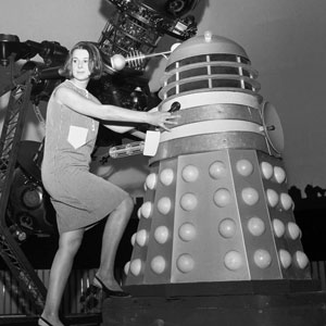 Verity Lambert (left)