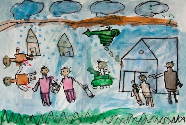 An illustration by Suha Wanous. (Courtesy Najda Now)
