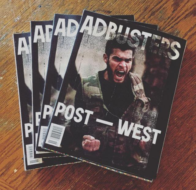May/Jun 2016 issue. (Courtesy @adbusters Instagram)