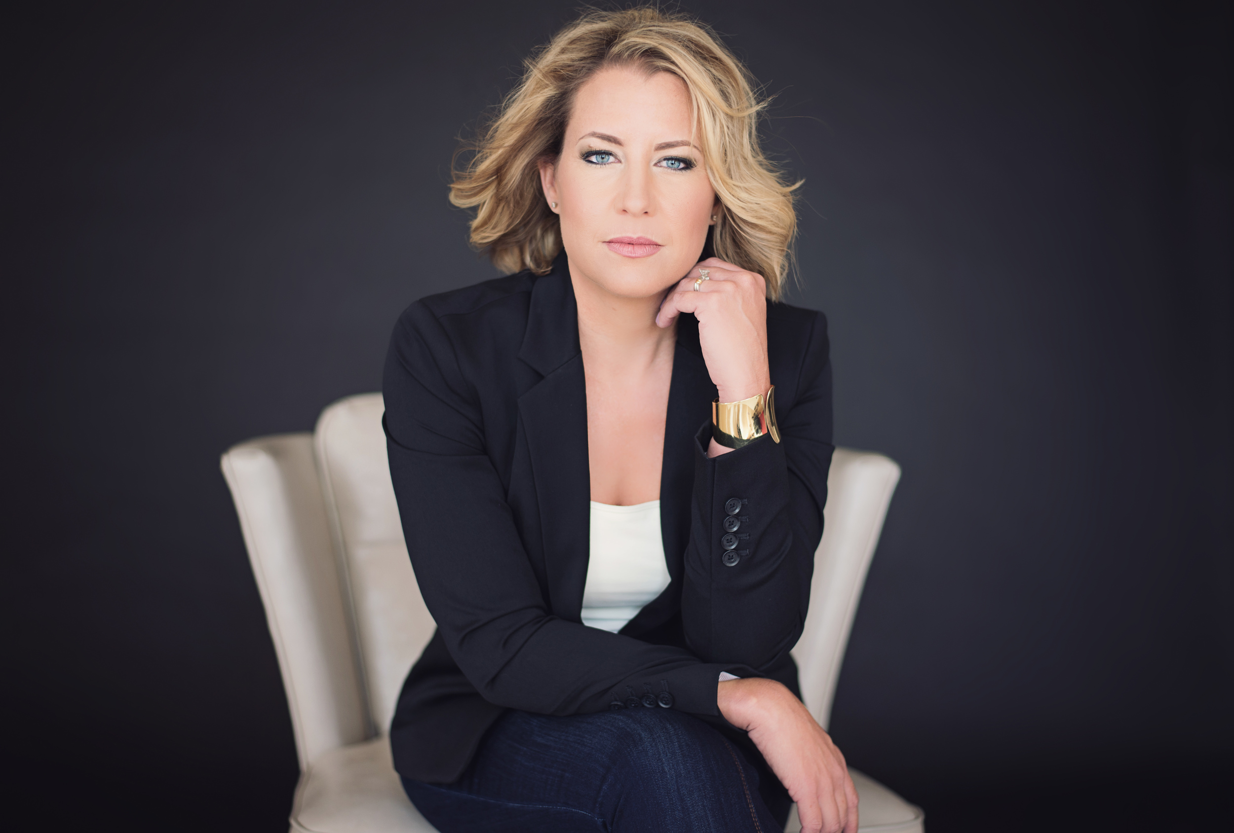 Tracy Modern Glamour Professional Head Shot Abilene Texas
