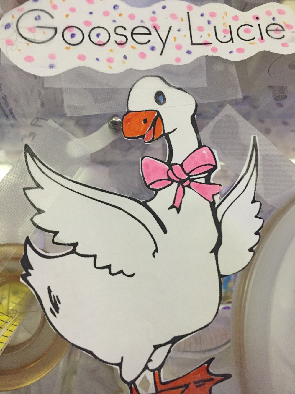 Goosey Lucie decor from Lucie' favorite nurse :)