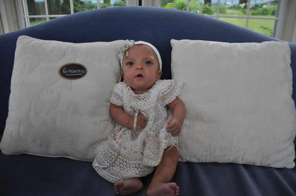 Hard to believe she's already six months old!