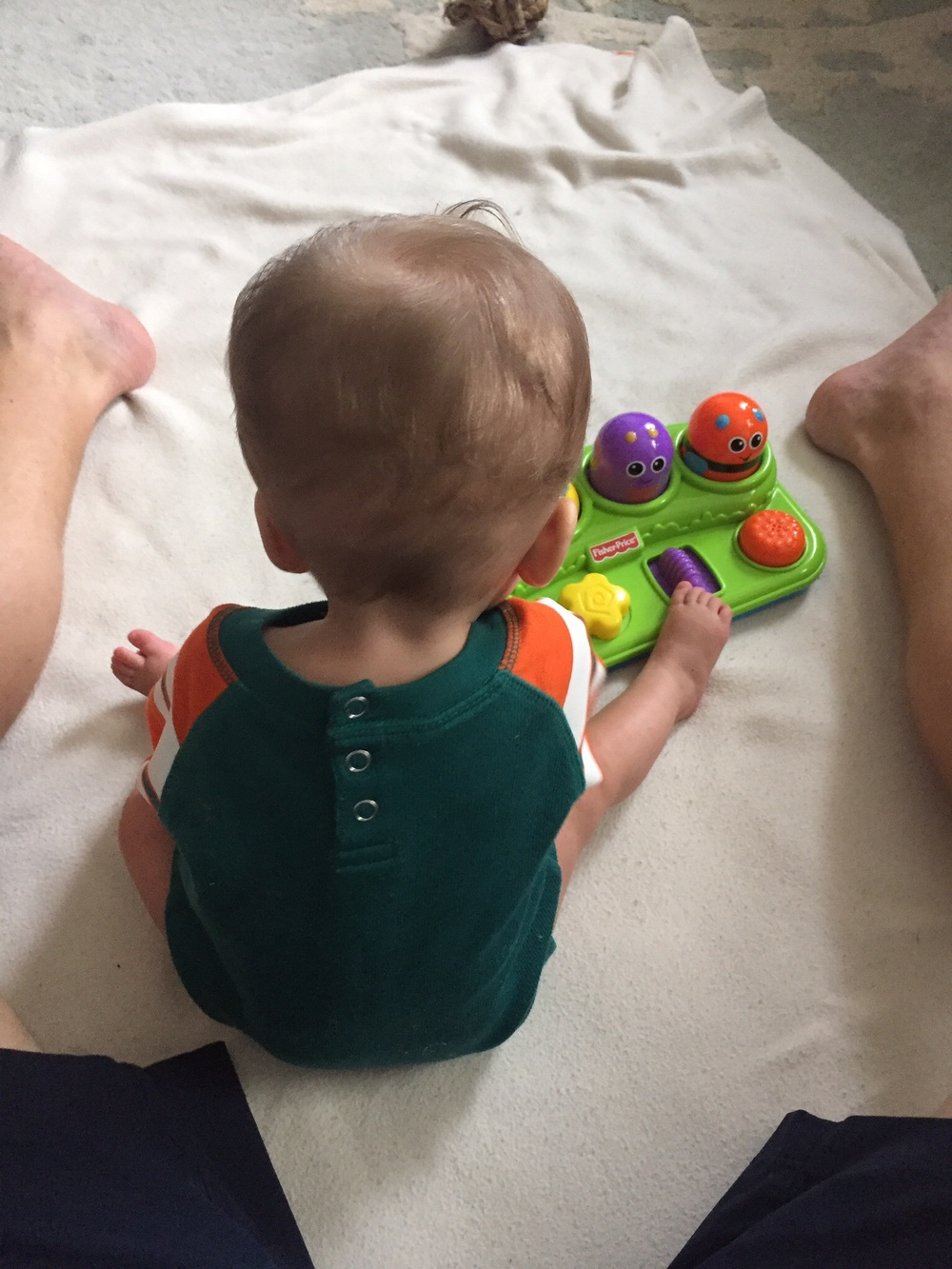 Starting to sit up and play!
