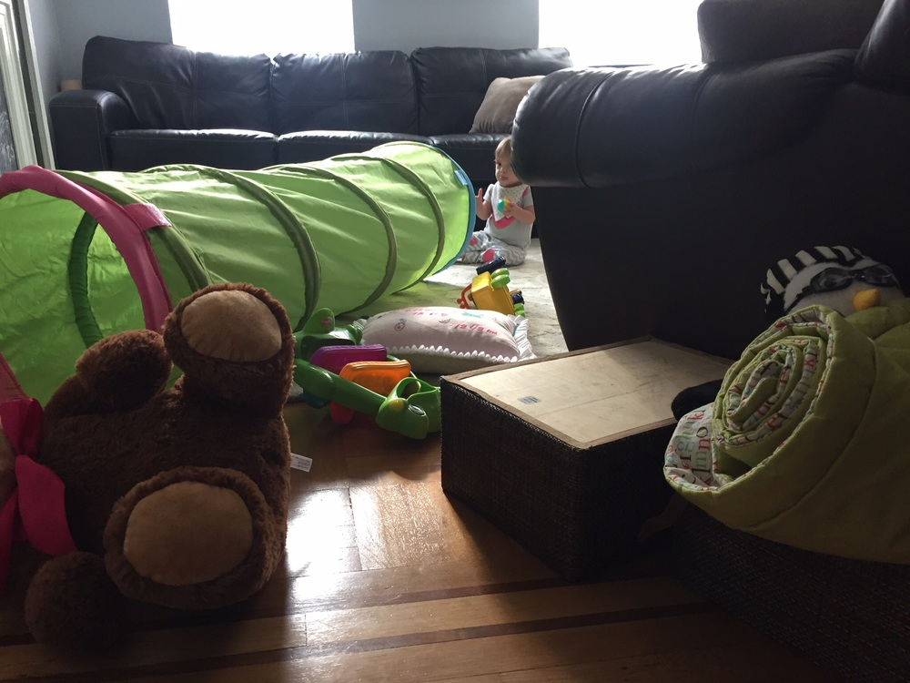 This isn't even all of her toys.