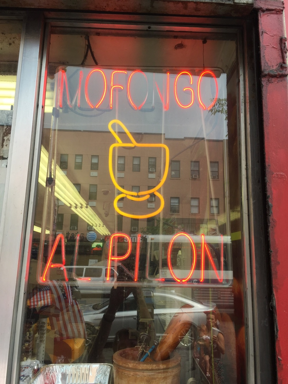Found this Puerto Rican joint in Spanish Harlem on the way to Target.