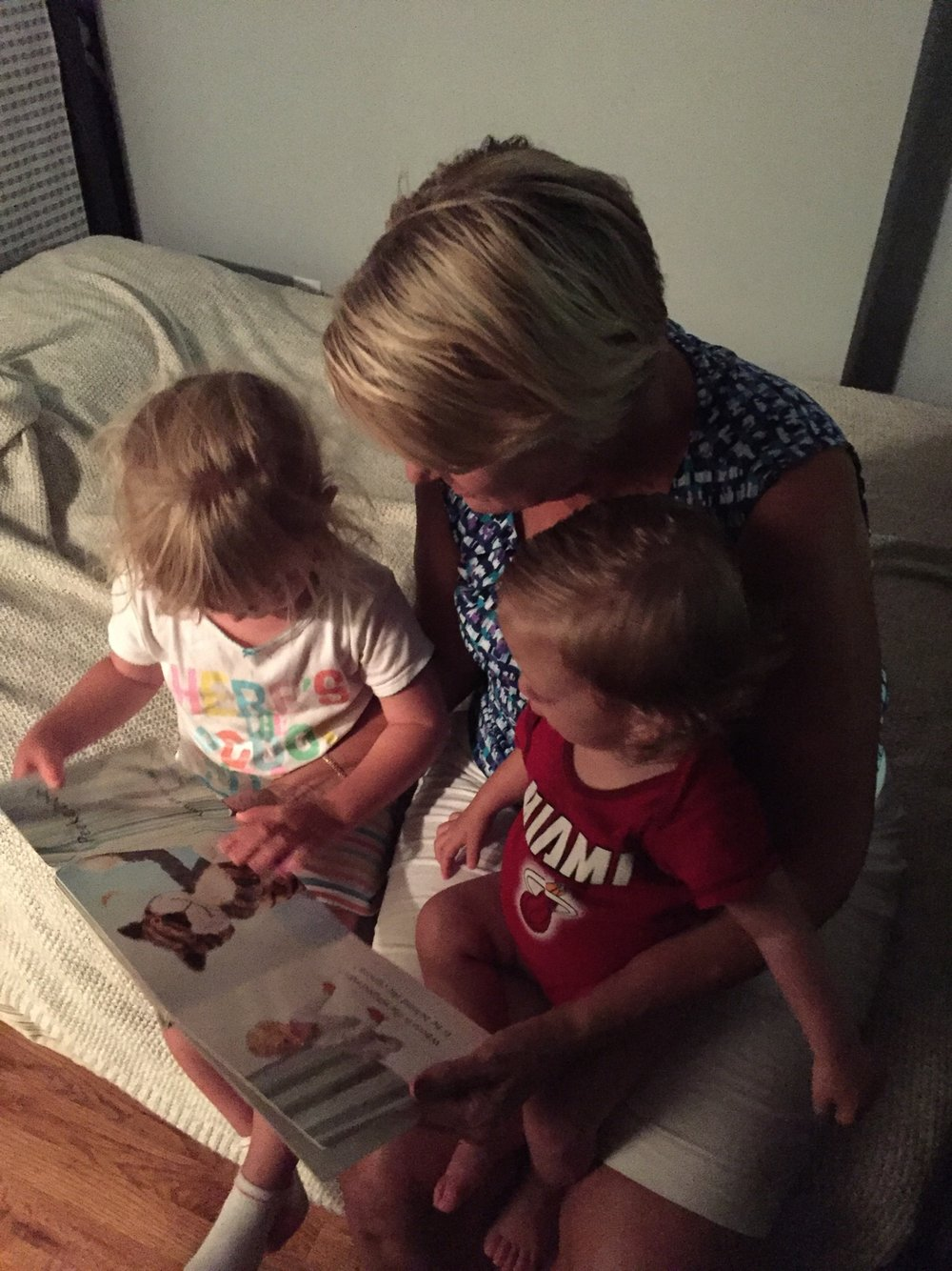 Bedtime stories with Grandma.
