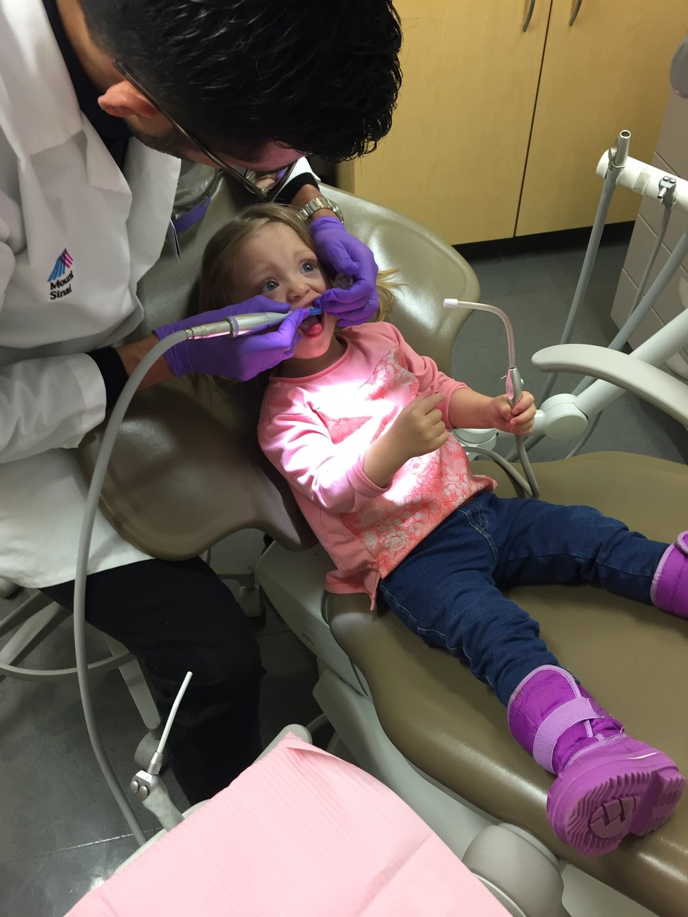 This dentist was amazing... and so was she!