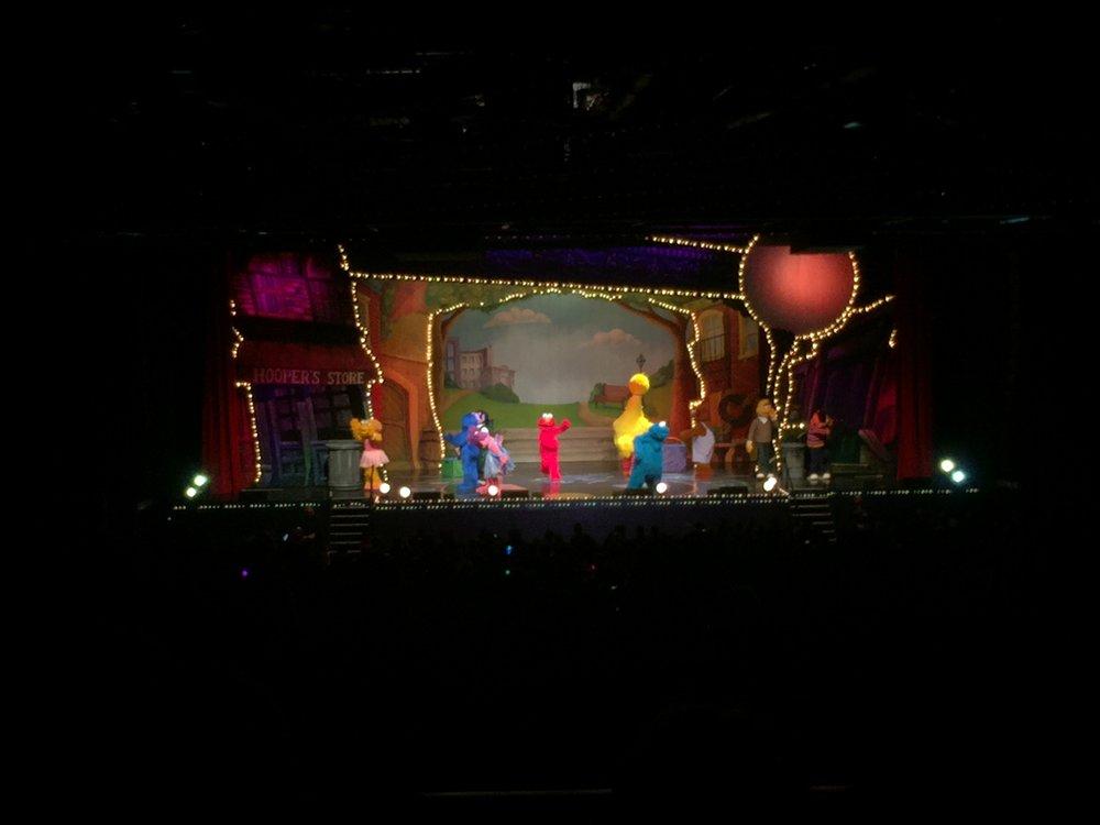 """""""Go, Cookie! Go, Monsto'! Go, Big Bird. Go, Elmo!"""" - Lucie (Cheering on her """"crew"""")"""