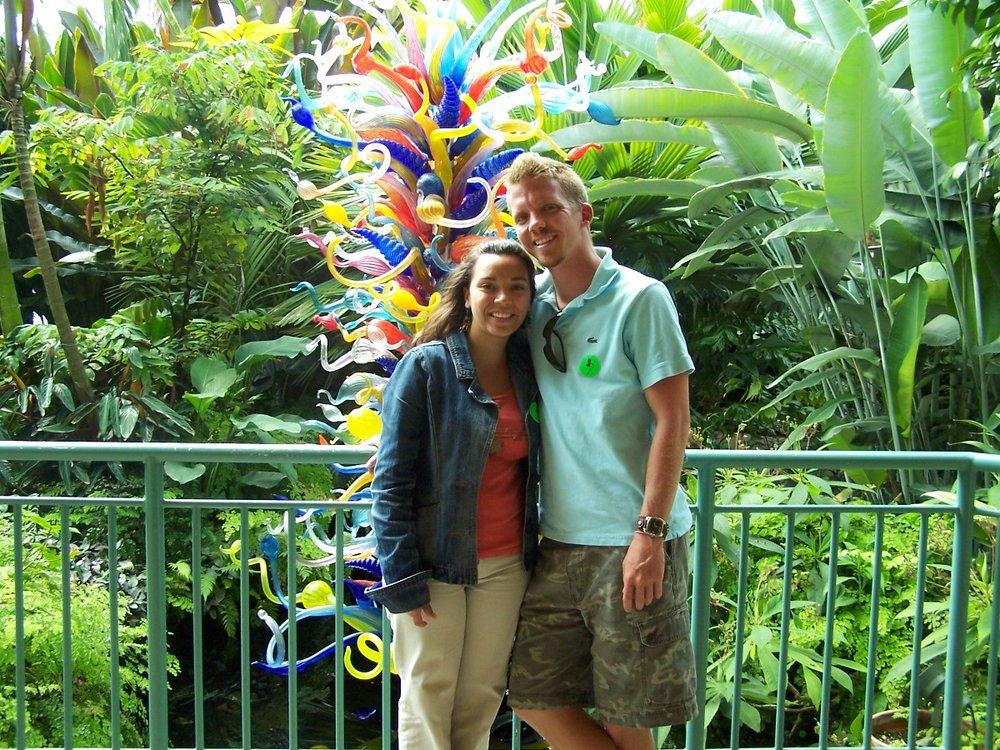 Ten years ago at Fairchild Tropical Botanic Garden in Miami (March 2007!)