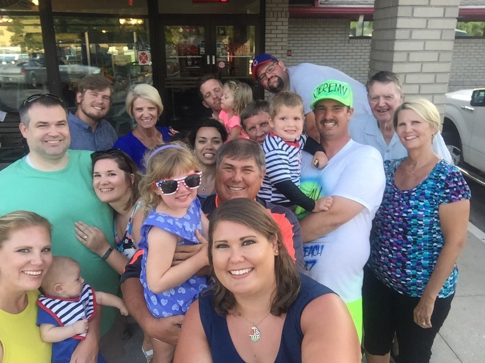 In PCB, FL with the whole Phillips-Hickson-Disney-Norman-Duhon family for the Four of July week!